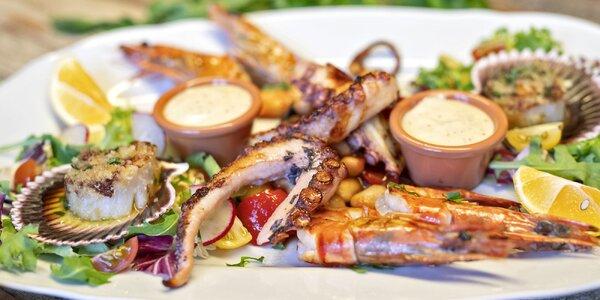 Degustační menu: hřebenatky i filet z ropušnice