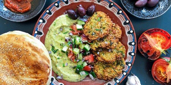 Tuniské vege či masové menu z food trucku