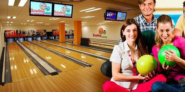 60minutový pronájem bowlingové dráhy v Celnici