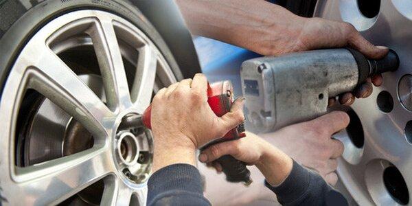 Kompletní přezutí pneumatik v autoservisu Škoda Petr
