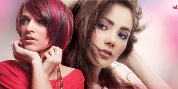 Kadeřnický balíček střihu a barvení vlasů