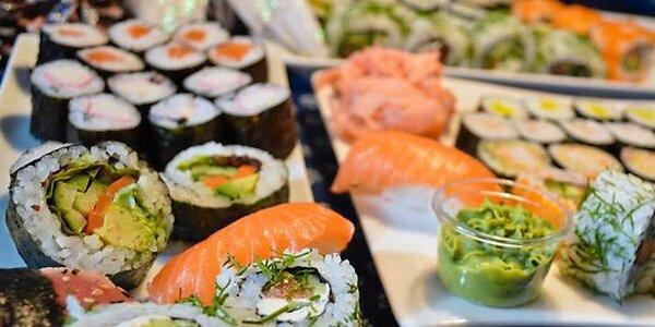 Velké vánoční či silvestrovské sushi menu s sebou