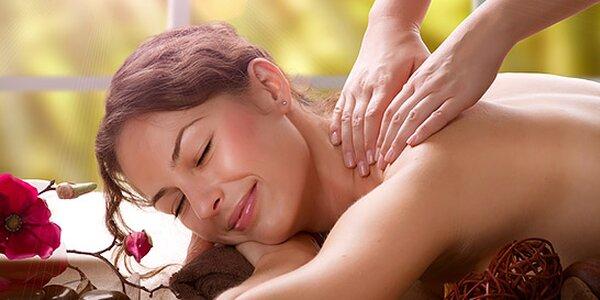 Luxusní 60minutová masáž celého těla dle výběru z 6 druhů