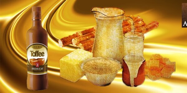 Crema de Toffee Arehucas - Toffee krémový likér 0,7l (17%)