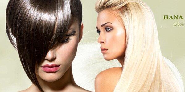 Kadeřnický balíček péče o vlasy včetně střihu