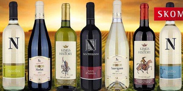 Vína z Moldávie, Itálie i Španělska