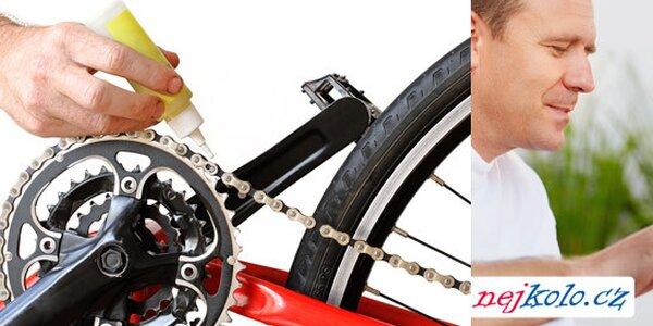 Servis jízdního kola - příprava na jaro