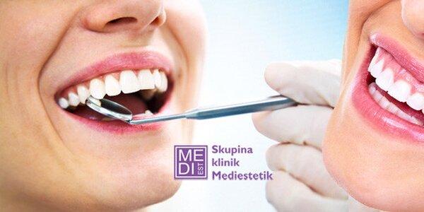 Dentální hygiena včetně konzultace s lékařem a RTG