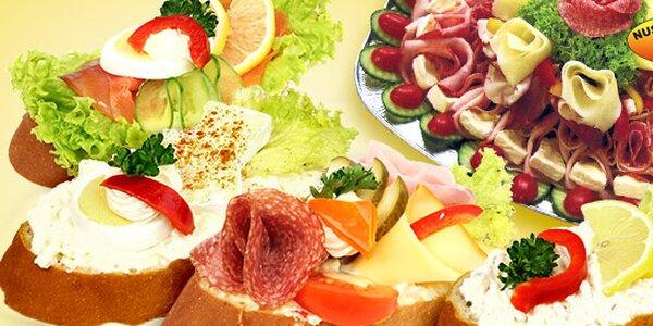 10 obložených chlebíčků z Nuselských lahůdek