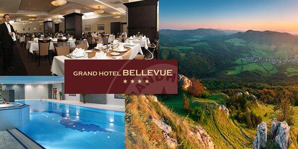 3 dny v Grand Hotelu Bellevue ve Vysokých Tatrách