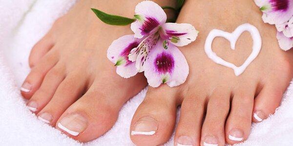Mokrá pedikúra JUST pro zdravé nohy