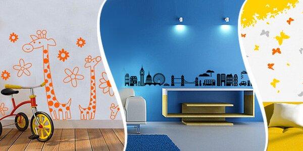 Samolepky na zeď do obýváku i pro děti