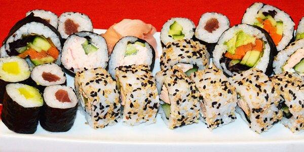 Velké sushi menu (42 ks) s sebou
