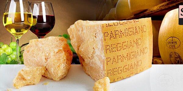 400 g vyzrálého sýra Parmigiano Reggiano