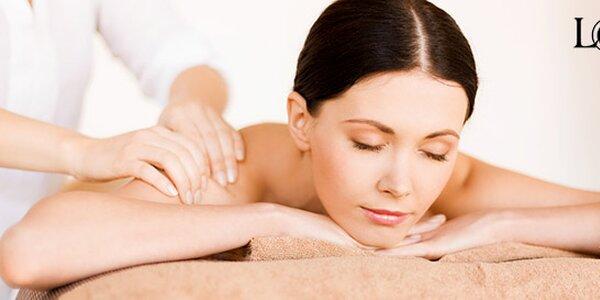 Terapeutická masáž bolavých zad