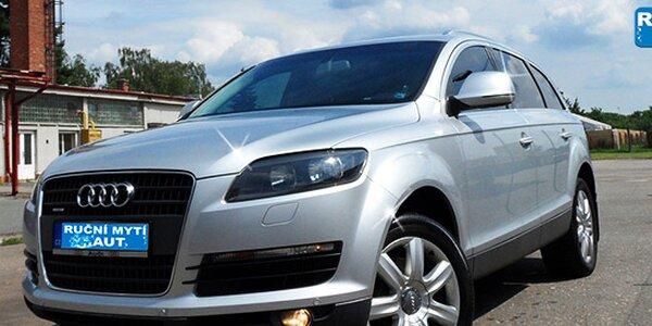 Ruční mytí vašeho vozu