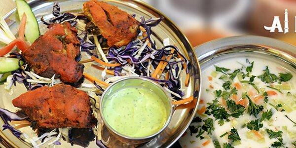 Sněz, co můžeš v indickém v bistru Al Karim