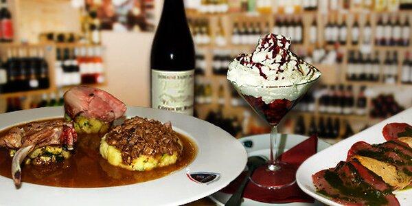 Degustační menu pro dva v La Boucherie & Bistrot M