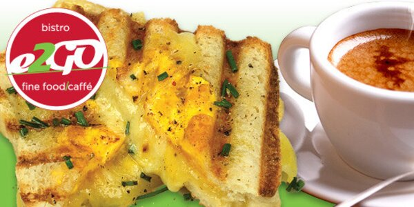 Snídaně na Můstku v Bistru e2GO
