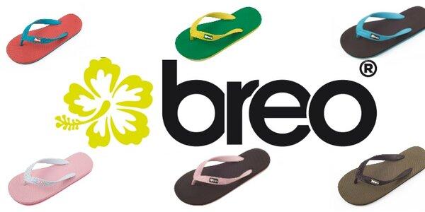 Designové žabky Breo
