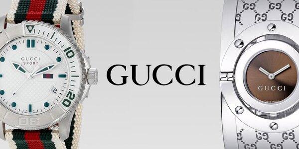 Dámské a pánské hodinky Gucci. Dopřejte si skutečný luxus!