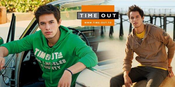 Pánské oblečení Timeout - pohodová móda ze slunné Kalifornie
