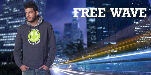 Stylové pánské oblečení Free Wave má energii a drive