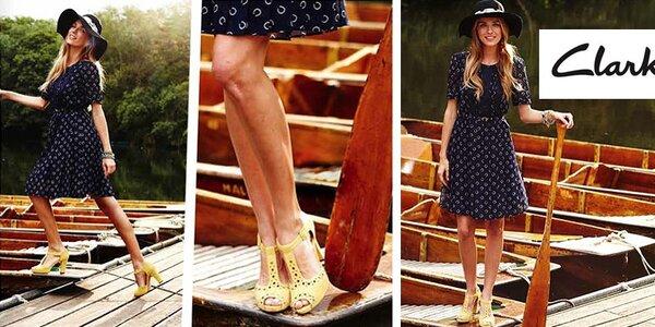 Originální dámské kožené boty Clarks jsou měkké jako peříčko