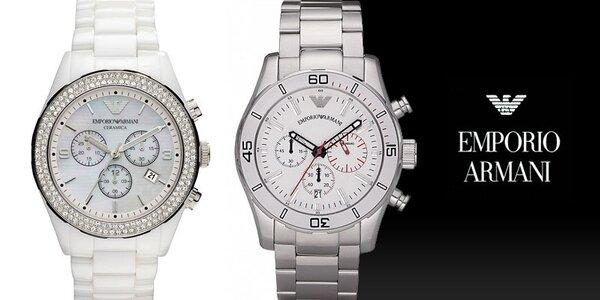 Luxusní hodinky Emporio Armani pro výjimečné muže a ženy