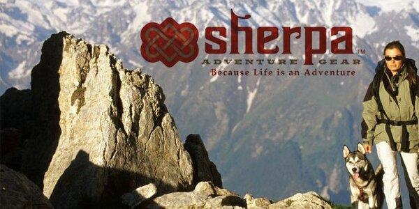 Stylové outdoorové oblečení a batohy Sherpa