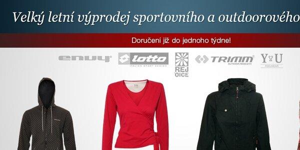 Výprodej sportovního a outdoorového oblečení - Rejoice, Trimm, Envy a další