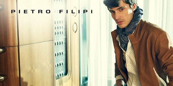 Pánské oblečení Pietro Filipi - městská elegance pro všední den