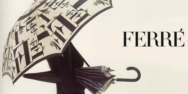 Dámské značkové deštníky Ferré Milano - pro radost z deště