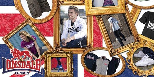 Lonsdale pánské oblečení