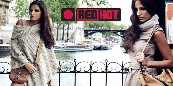 Stylové kabelky a pásky Red Hot
