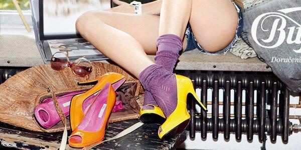 Buffalo - stylová dámská obuv netradičních tvarů a střihů