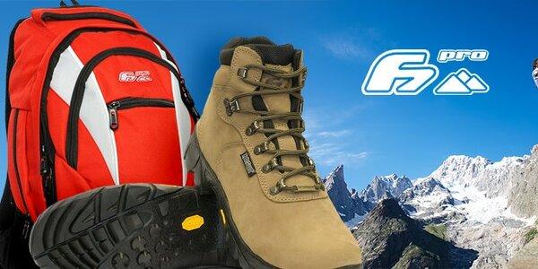F7 - kvalitní trekingová obuv a batohy