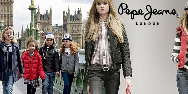 Dámské a dětské oblečení Pepe Jeans - pop art na vašem těle