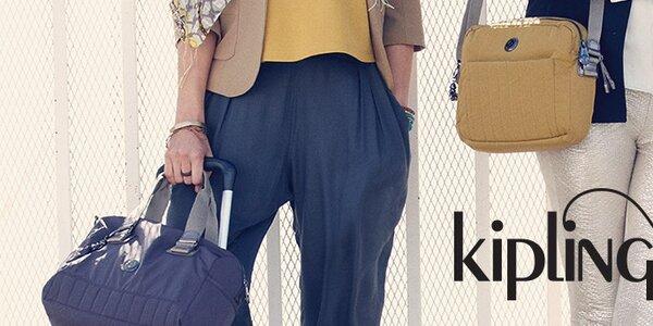 Dámské kabelky, tašky a batohy Kipling - to pravé pro vaše cesty