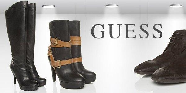 Guess - kvalitní designová obuv pro muže a ženy
