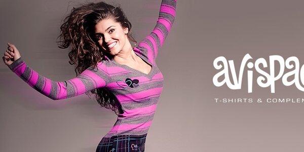 Avispada - veselá španělská móda s barevnými potisky