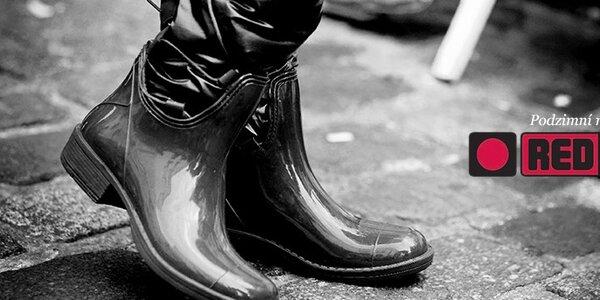 Dámské stylové boty Red Hot