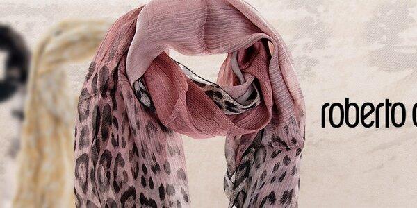 Roberto Cavalli - luxusní dámské hedvábné šátky