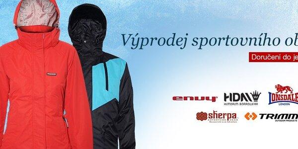 Výprodej sportovního oblečení