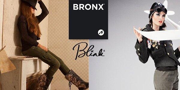 Bronx & Blink - stylová dámská obuv