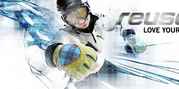 Pánské a dámské lyžařské rukavice Reusch