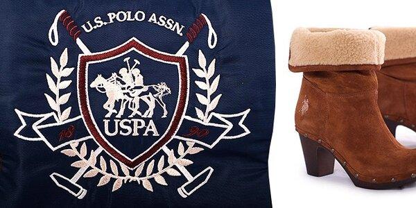 Dámské a pánské boty U.S. Polo
