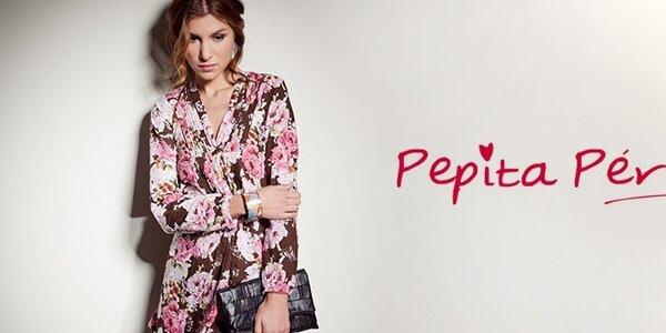 Španělská móda Pepita Peréz - etno, hippie a romantické potisky
