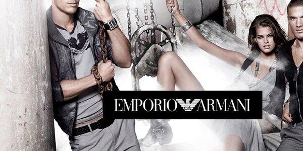 Emporio Armani - dámské a pánské oblečení a doplňky