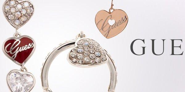 Dámské ocelové šperky Guess
